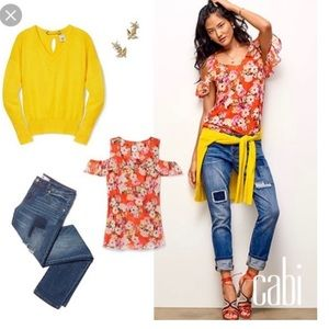 CAbi canary pullover